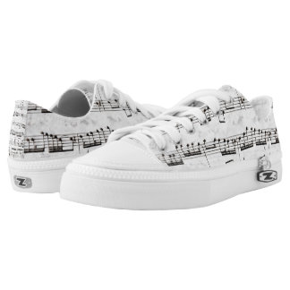 Nota Bene (black and white) Low Tops