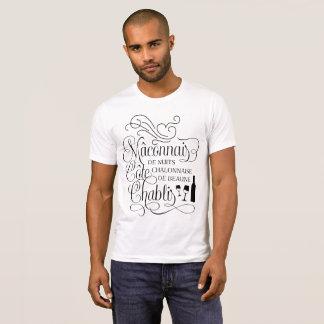 Notable Burgundy Regions Wine Lover T-Shirt