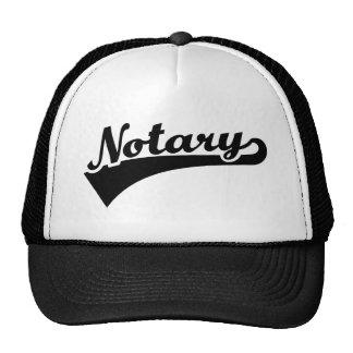 Notary Cap