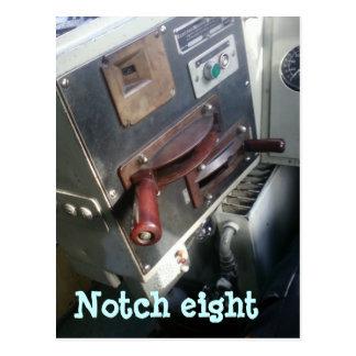Notch eight postcard