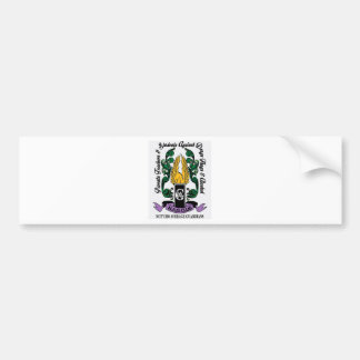 Not'Cho Average Guardians Crest Bumper Sticker