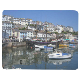Note Book With Brixham Harbour Pictures