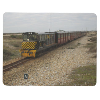 Note Book With Diesel and Steam Train Pictures