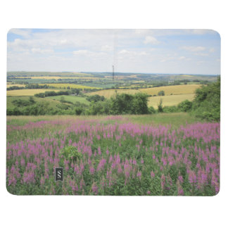 Note Book With Hills in South Downs on Cover
