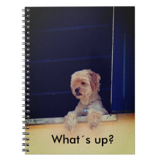 Note book with motive for dog