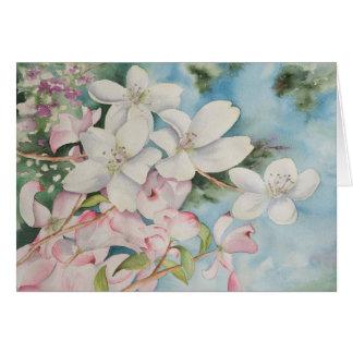 Note Card A La Spring