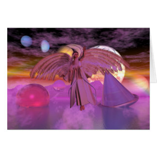 Note Card Astral Bodies Fantasy Sci-fi Card