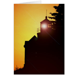 Note Card -Bass Harbor Light