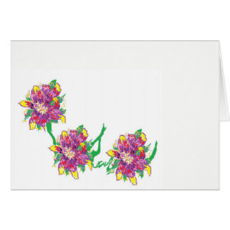 Note Card Blank inside /Asiatic Lily