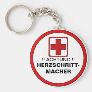 NOTE!  Cardiac pacemaker Key Ring