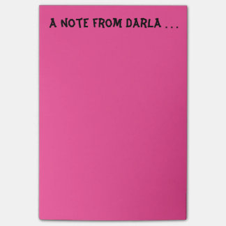 Note from Darla