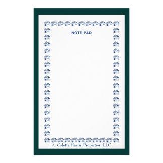 Note Pad- Design 10 Stationery Design