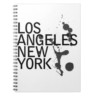 Note Pad, Lost Angeles and New York Note Book