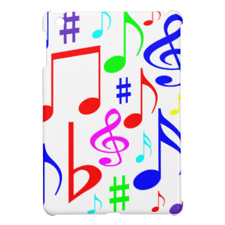 note rainbow iPad mini case