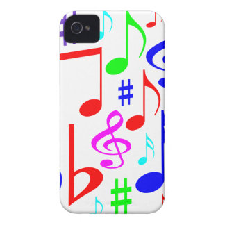 note rainbow iPhone 4 Case-Mate case