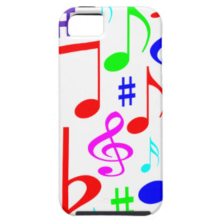note rainbow iPhone 5 cover