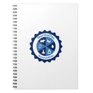 Notebook 80 pages - Blue NormaDoc Logo