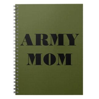 Notebook Army Mom