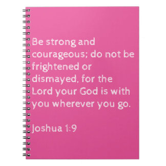 Notebook bible verse