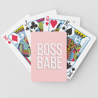 Notebook BOSS BABE Journal in Pink Poker Deck