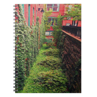 Notebook - Brick & Ivy Scene - Full Color