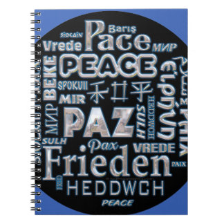 Notebook chrome text peace multi languages
