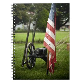 Notebook - Civil War Canon