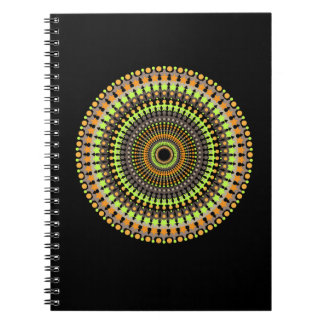 Notebook:  Colorful Mandala pattern Notebook