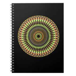 Notebook:  Colorful Mandala pattern Notebooks