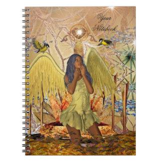 Notebook Fantasy Girl Golden Angel