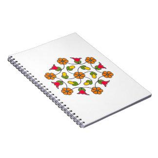 Notebook-Flower Series#63 Notebooks