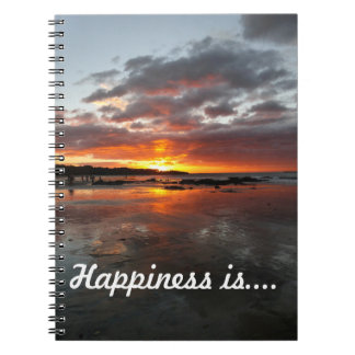 Notebook for happy thoughts