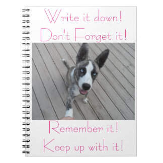 Notebook for Rescued Animal Lovers