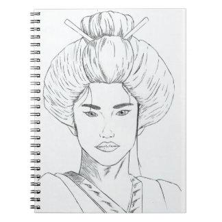 Notebook Gueixa Sketch