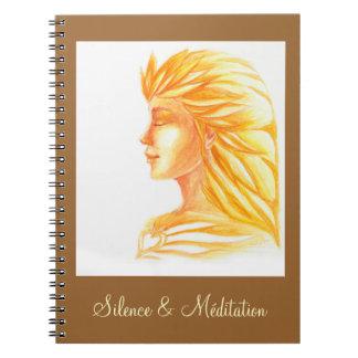"""Notebook """"Heart of Fire """""""