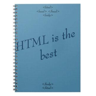 notebook HTML