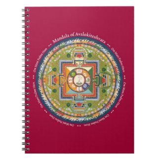 NOTEBOOK - Mandala of Chenrezig with Mantra