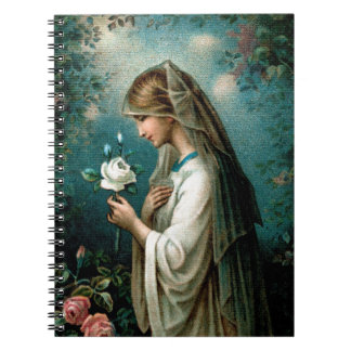 Notebook: Mystical Rose Notebook