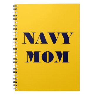 Notebook Navy Mom