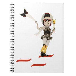 "Notebook ""Noh Bride """
