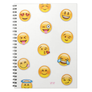 Notebook of emojis