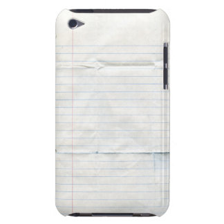 Notebook Paper Case-Mate Case iPod Touch Covers