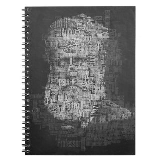 Notebook Pedro II, man of the letters