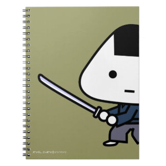 NoteBook - RiceBall Samurai - Gold