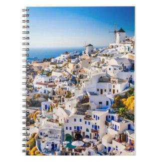 Notebook Santorini