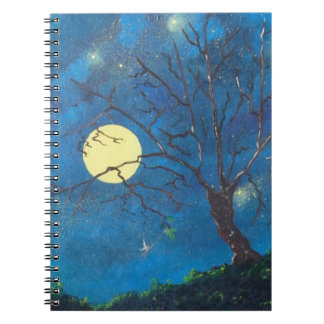 Notebook the tree and the fairy