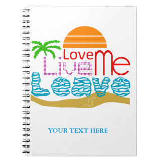 Notebook Valentine - Sea, sun, beach