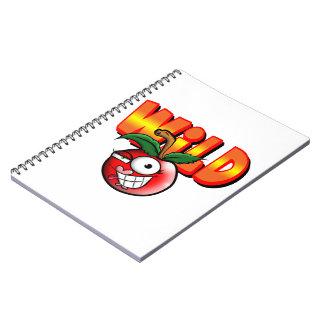 notebook/wild cherry note books