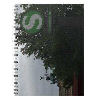 Notebook with Brandenburg Gate, Berlin