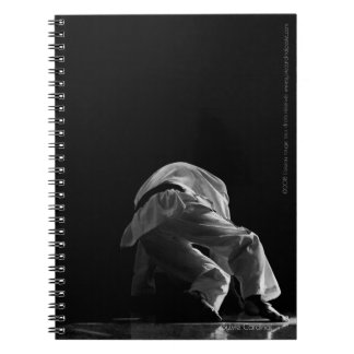 Notebook with spirals TAEKWONDO Of the Tests